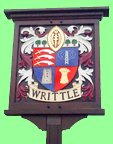 Writtle Village in Essex
